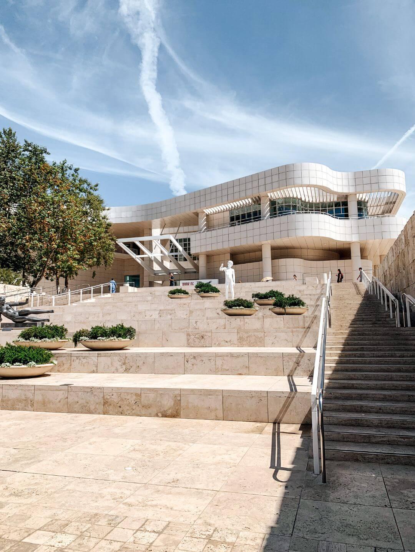 Getty Center à Los Angeles - Un road trip en Californie et dans l'Ouest américain